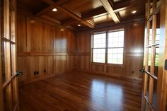images about Wood paneled office walls on Pinterest