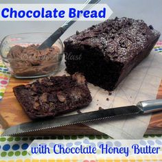 The Chocolate Butter melts into the bread making it a chocolate heaven!  #ChocolateBread #QuickBread #ChocolateButter