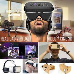 Videos y animaciones 3D en 360º para dispositivos de realidad virtual, Una experiencia inmersiva, transporta al cliente, dentro de un video. También ofrecemos, VR Panoramas, juegos de video 3D, videos estereoscopios (cine 3D) Adicionalmente, podemos proyectar lo que experimenta el usuario, a una pantalla, para hacer participar mas gente en la experiencia.  Si lo que se busca es masivo, los videos o animación estereoscopias (cine 3D), es un formato espectacular!