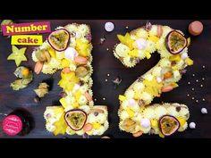 Le NUMBER CAKE ou GATEAU CHIFFRE ! Gâteau d'anniversaire ultra tendance - YouTube