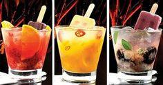 O caipilé, drinque não alcoólico, que mistura frutas, xaropes coloridos e picolés, é uma das sugestões da Bombar Eventos (www.bombareventos.com.br) para as festas de 15 anos
