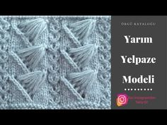 Let's learn together your own fashion accessories, basic and other creative points, techniques and tips to learn or develop the art of crochet and kni. Knitting Videos, Knitting Stitches, Hand Knitting, Kids Knitting Patterns, Knitting For Kids, Crochet Baby Costumes, Crochet Hats, Baby Boy Vest, Knit Baby Shoes