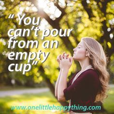 Self love, self care, inspirational quote