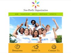 An easy to customize non profit orgainization website template complete with contact forms. Only on Talkspot.com