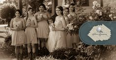 This could be you and your bridal party! Silver Sycamore is vintage perfection.