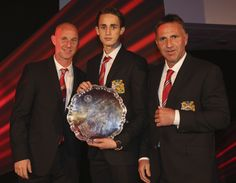 After some excellent performances at youth level, Adnan Januzaj won the 2013 @manutd Denzil Haroun Young Player of the Year Award.