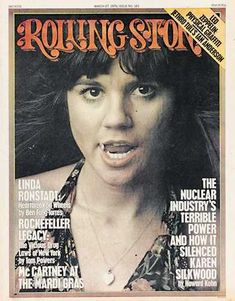 On the cover of the Rolling Stone                                                                .