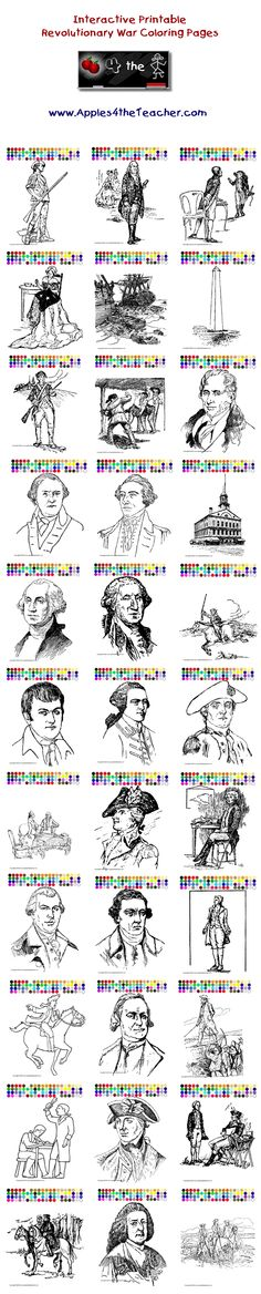 Printable Interactive 4th Of July Coloring Pages Independence Day For Kids