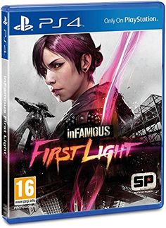 inFamous First Light - PS4 (Physical Version) - If I get a PS4