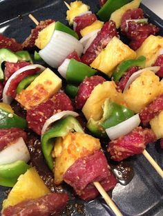 Easy Beef Kabobs
