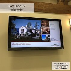 Kew House in West Vancouver on Engel & Völkers #Shop TV - This listing displays on every TV in every E&V office in North America - Awesome #feature! #findusEVerywhere #wp #linkedin #theEVlist
