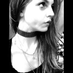 Vintage punk rock mod gothic chocker neck collar #Vintage#pinkbowsandbling#forthegirlwhohaseverything#necklace#faux…