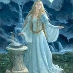 F011_Oracle (Ruth Sanderson)  This makes me think of Galadriel