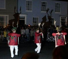 Abbots Bromley, Staffordshire England.    Glimpse an 800-year-old pagan dance involving unwieldy antlers.  1st weekend in september after the 4th