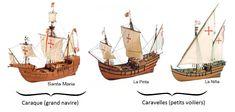 Les 3 Bateaux de Christophe Colomb