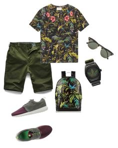 Iboy by thenarshamissry on Polyvore featuring polyvore, Gucci, G-Star Raw, NIKE, adidas, Ray-Ban, men's fashion, menswear and clothing