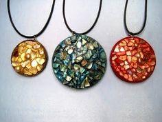 Shell Mosaic Necklace ~ Featuring Miriam Joy - YouTube