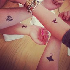 temporary tattoos from banquet (vancouver)
