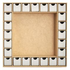 Beyond The Page MDF Shadow Box With Drawers Advent Calendar-13