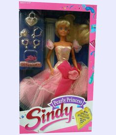 Pearly Princess Sindy - 1988 90s Toys, Retro Toys, Vintage Toys, Barbie 80s, Sindy Doll, Dolls, Childhood Toys, Childhood Memories, 90s Girl