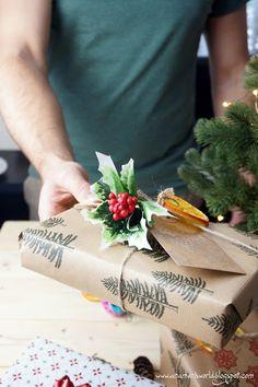 My space, my world. Ana Mari's world.: Pakowanie prezentów świątecznych last minute