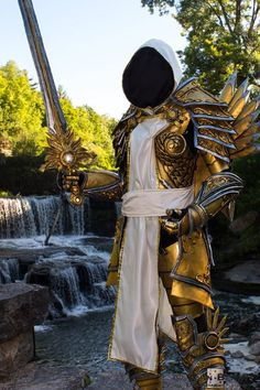 Tyrael from Diablo 3