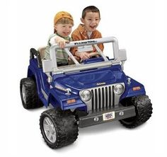 jeep rubicon power wheels - probably Carter's Christmas present.