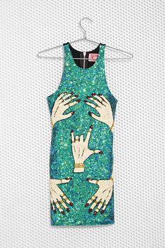 DI$COUNT UNIVER$E Hands Off Sequin Dress