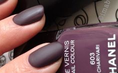 #Chanel Spring 2014 makeup, Notes Du Printemps collection:  Chanel nail polish Charivari (+ Mat Top Coat)