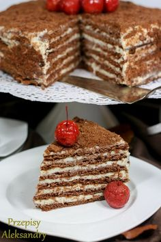Tort Spartak (serowo-czekoladowy) / Russian Spartak Cake