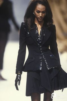 Chanel, Autumn-Winter 1991, Couture on www.europeanafashion.eu