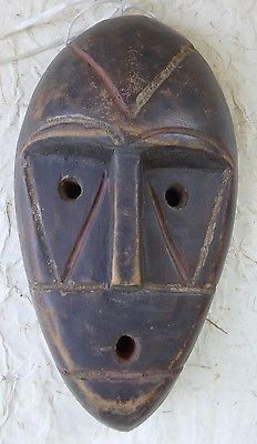 OLD AFRICAN DR CONGO WOOD MASK