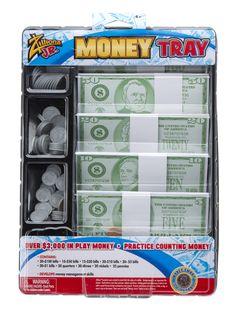 Non-Candy #Easter basket filler idea: Play money!