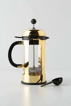 I think I need this gold french press