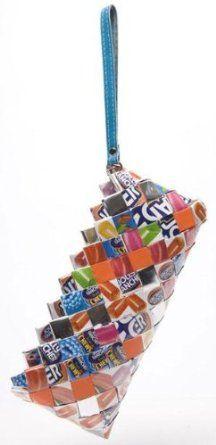 Nahui Ollin Candy Wrapper Bags Candy Clutch Wristlet Jolly Rancher