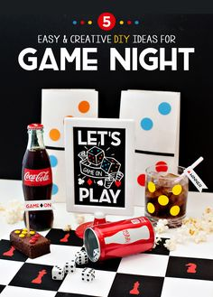 GAME ON! 5 Easy & Creative Ideas for Game Night // Hostess with the Mostess®
