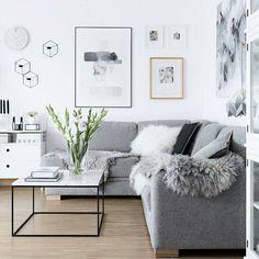 Ahhh Sunday! Loving this living room inspo from @my_full_house.