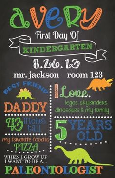 Free Printable Back To School Signs for 2015-2016 | School signs ...