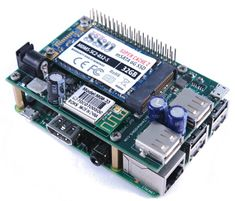 Raspberry Pi SSD shield tosses in WiFi, USB ports, and power · LinuxGizmos.com