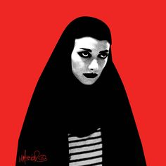 A Girl Who Walks Home Alone at Night Illustration on Behance