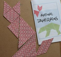 Marie's Pastiche: Chinese Toy: Printable Tangram Puzzles and Challenge