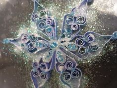 Quilled Snowflake (Tutorial), Christmas Crafts