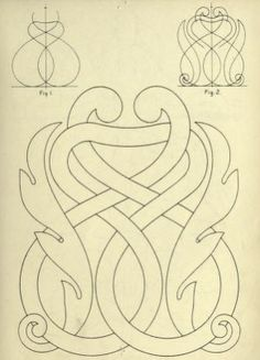 Cusack's Freehand Ornament, plate 103 - Knots in traditional art - Wikimedia Commons