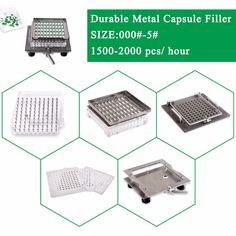 Size 1 CapsulCN-100M Semi-Automatic capsule filler/Capsule Filling Machine/capsule encapsulation #Affiliate