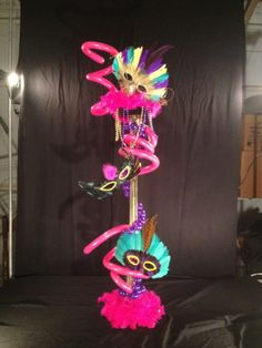 Mardi Gras Centerpiece . Mardi Gras Centerpieces, Neon Signs