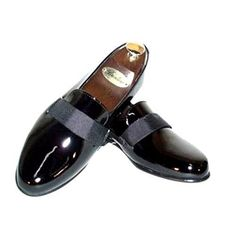99730a6ceb3 Transit Formal Patent Leather Slip-on Tuxedo Shoes Size 9... https