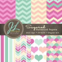 Pastel colored paper pack