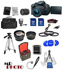 photo-video: Canon EOS Rebel T5i SLR Camera + 18-55mm STM Lens ?+ 32GB VALUE BUNDLE  NEW #Camera - Canon EOS Rebel T5i SLR Camera + 18-55mm STM Lens ?+ 32GB VALUE BUNDLE  NEW...