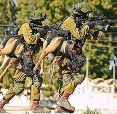You know you're a badass when you carry a holstered attack dog.