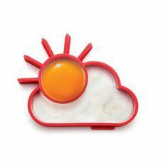Sunnyside Egg Mold Set of Two